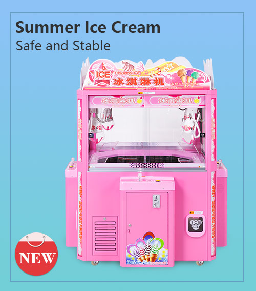 Ice cream catching machine( four--player)