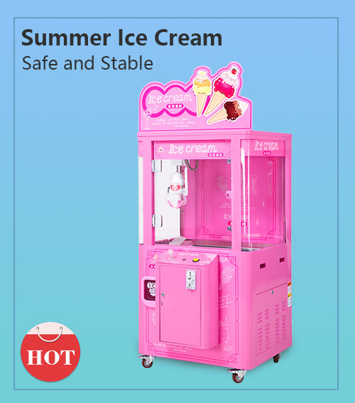 Ice cream catching machine (1 player)