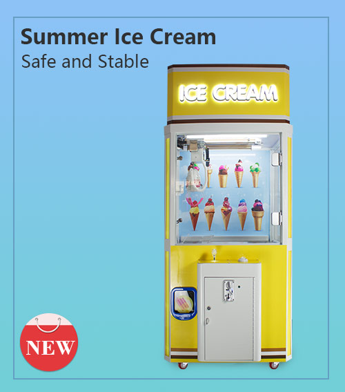 Ice cream catching machine(1 player)