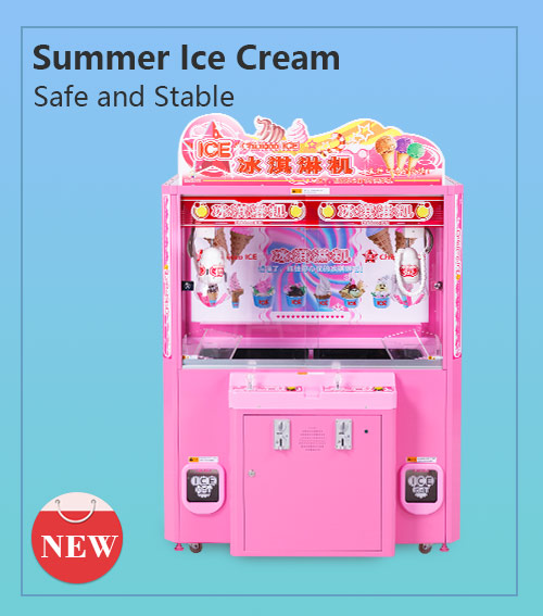 Ice cream catching machine( two--player)