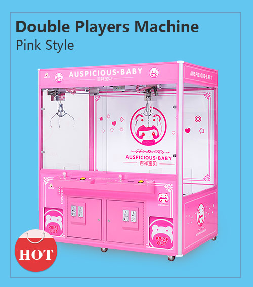 Double players crane machine