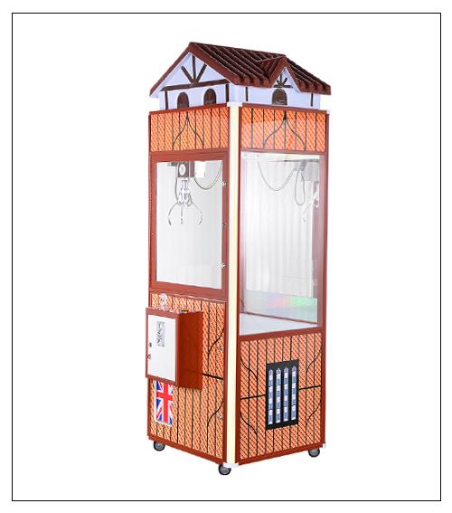 英伦风电话亭娃娃机