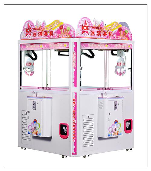 Ice cream catching machine( four--player)